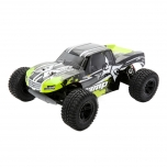 ECX AMP MT 2WD Monster Truck RTR, must/roheline kere