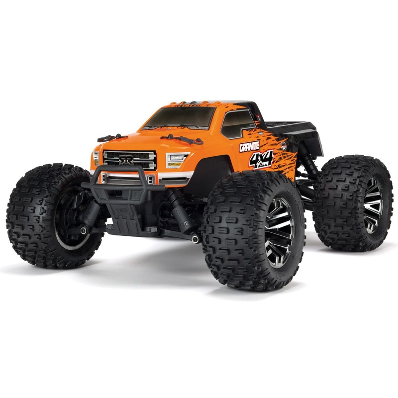 Arrma 1/10 Granite 3S BLX 4WD RTR (Orange/Black)
