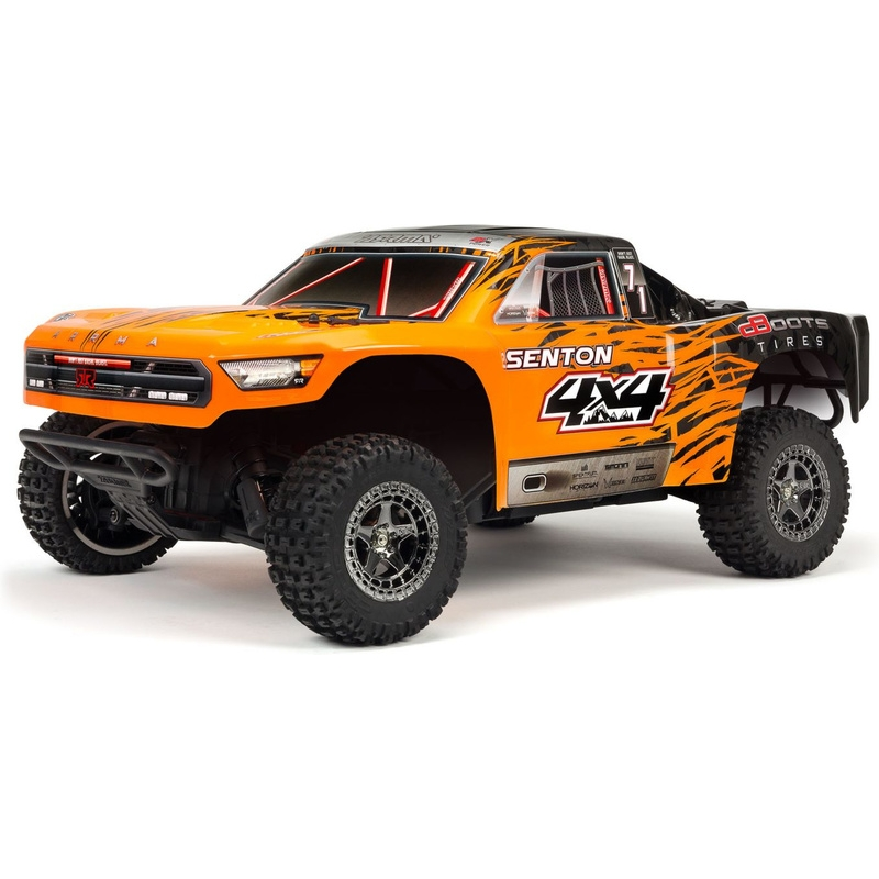 Arrma 1/10 Senton 3S BLX 4WD RTR (Orange/Black)