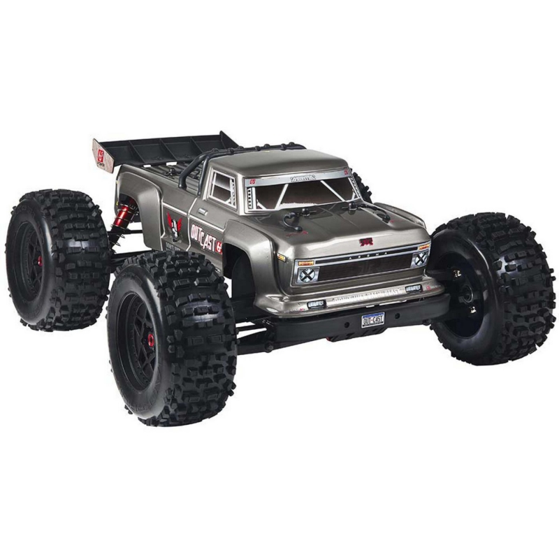 Arrma OUTCAST 6S BLX 4WD Brushless Stunt Truck RTR, Silver (V4 2019)