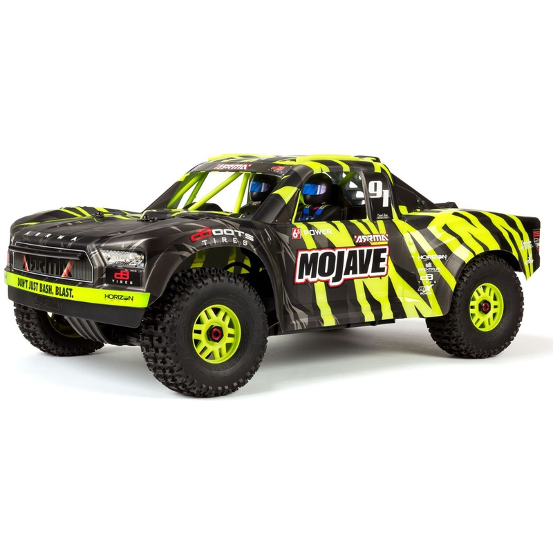 Arrma MOJAVE 6S BLX 4WD 1:7 Desert Truck RTR (punane/must)