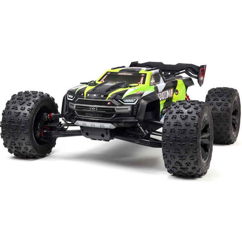 ARRMA 1/5 KRATON 4X4 8S BLX Brushless Speed Monster Truck RTR, Roheline