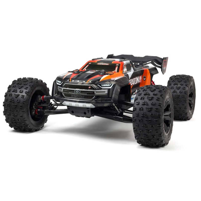ARRMA 1/5 KRATON 4X4 8S BLX Brushless Speed Monster Truck RTR, Oranž