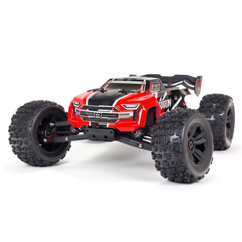 Arrma KRATON 6S BLX 1/8 4WD Speed Monster Truck RTR V5, Punane