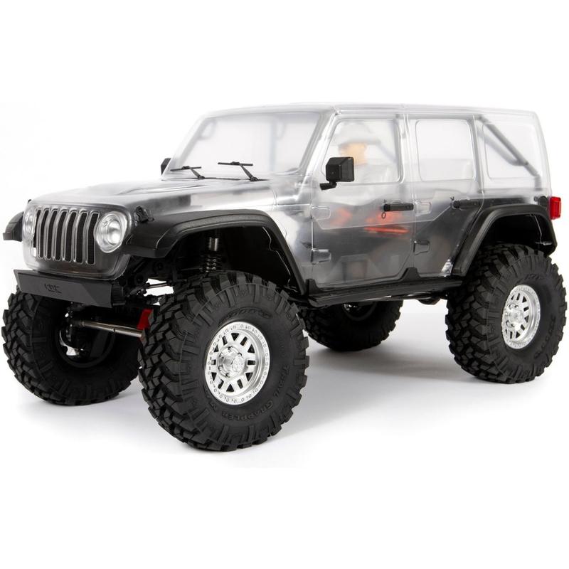 Axial 1/10 SCX10III Jeep JLU Wrangler 4WD Kit (ilma elektroonikata veermiku komplekt)