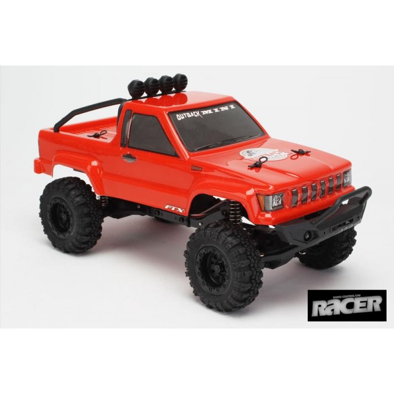 FTX Outback Mini 1:24 Trail Truck RTR, Red @ ClayPitRC eu RC HobbyStore