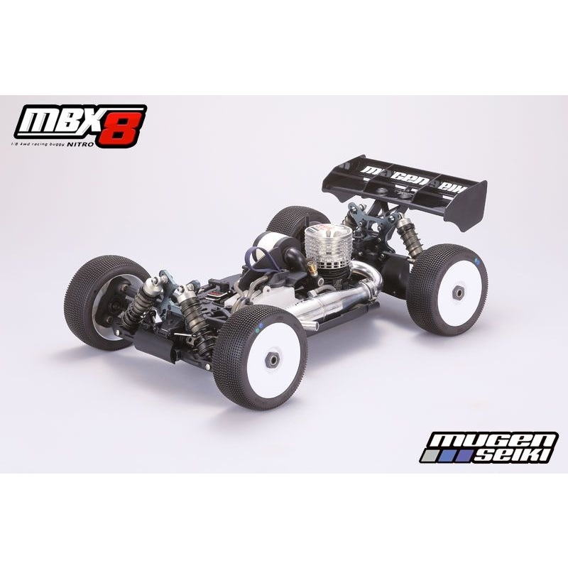 Mugen Seiki MBX-8 1/8 4WD OFF-Road Buggy KIT @ ClayPitRC.eu RC ...