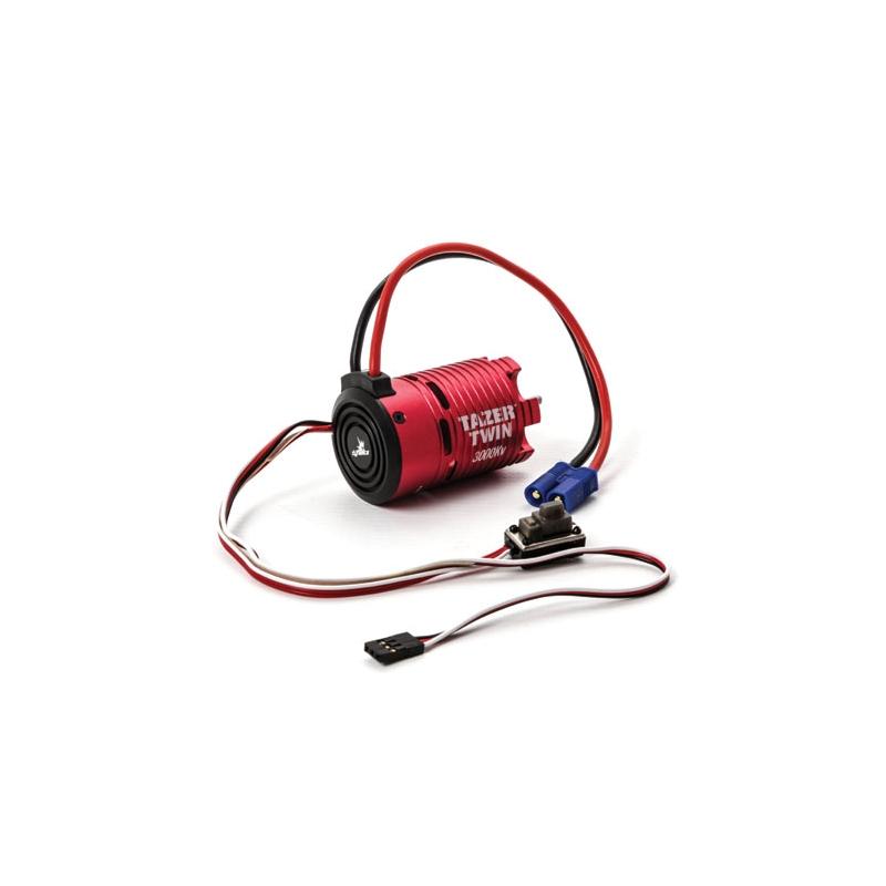 DYNS1450 450 tazer twin brushless motor esc combo 2wd, 3000kv @ claypitrc eu rc
