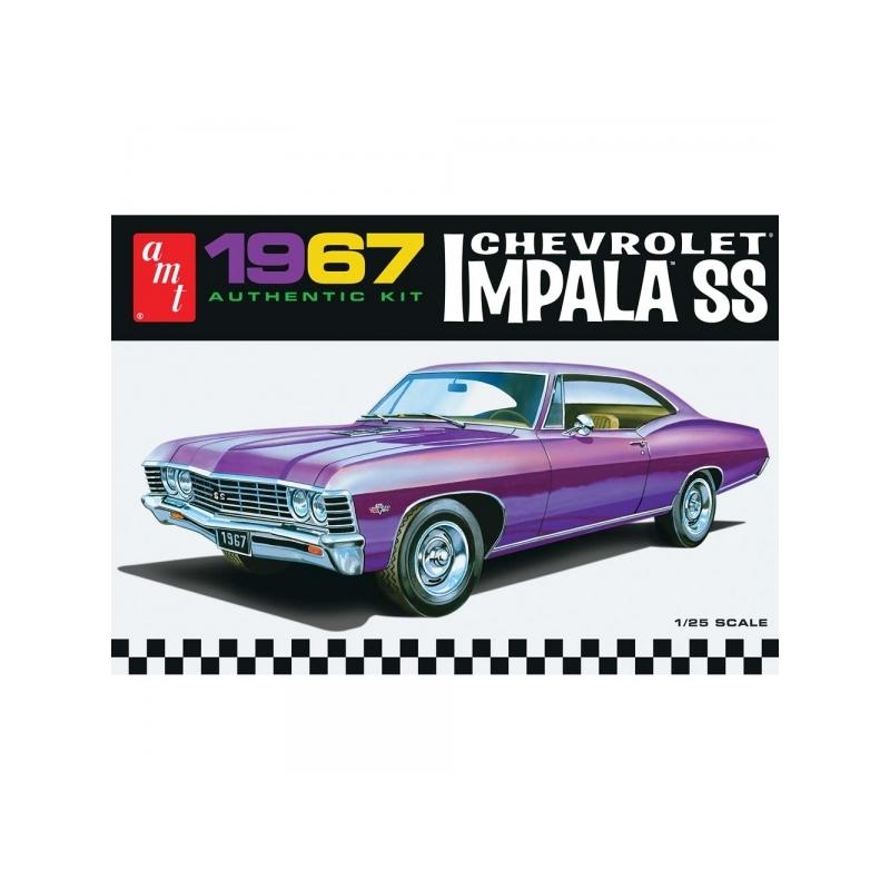 AMT 1967 Chevrolet Impala SS 1:25 @ ClayPitRC eu