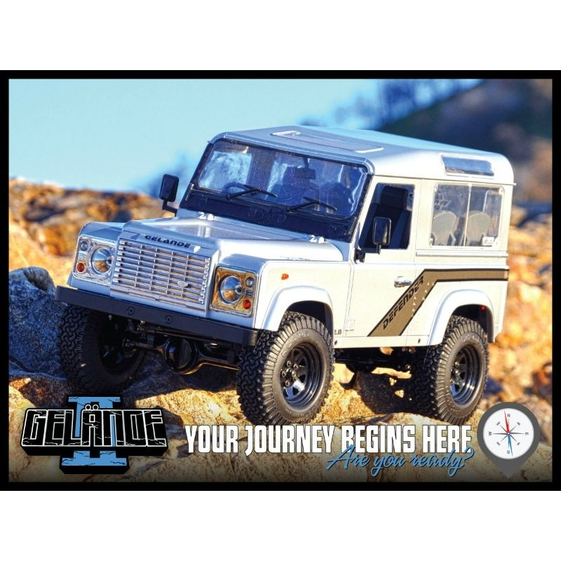 RC 4WD Z-S0853 RC4WD ARB Land Rover Defender 90 Winch Bar Front Bumper