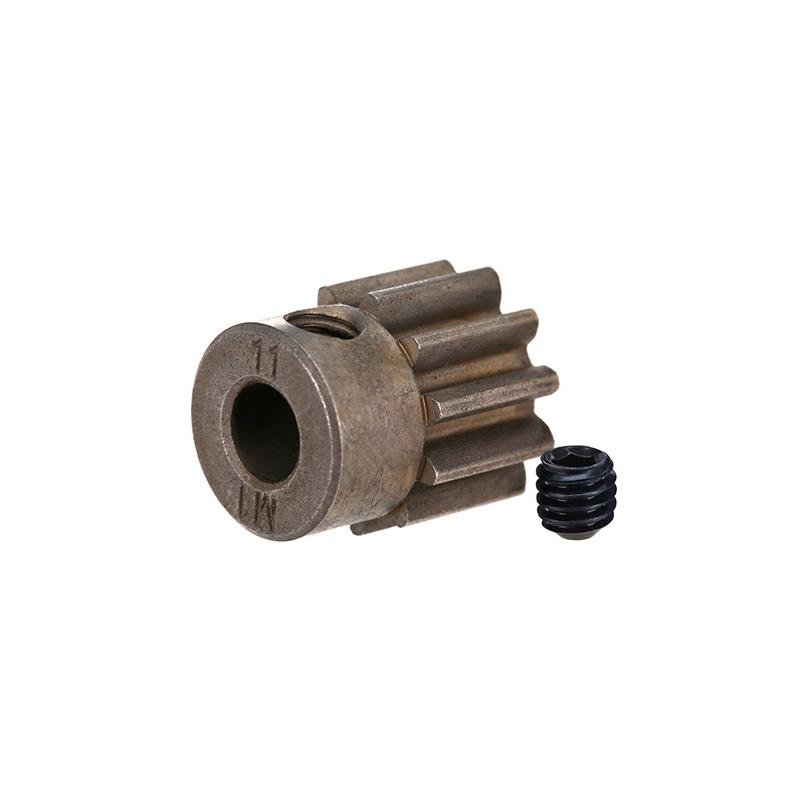 Traxxas Gear, 11-T pinion (1 0 metric pitch) (fits 5mm shaft