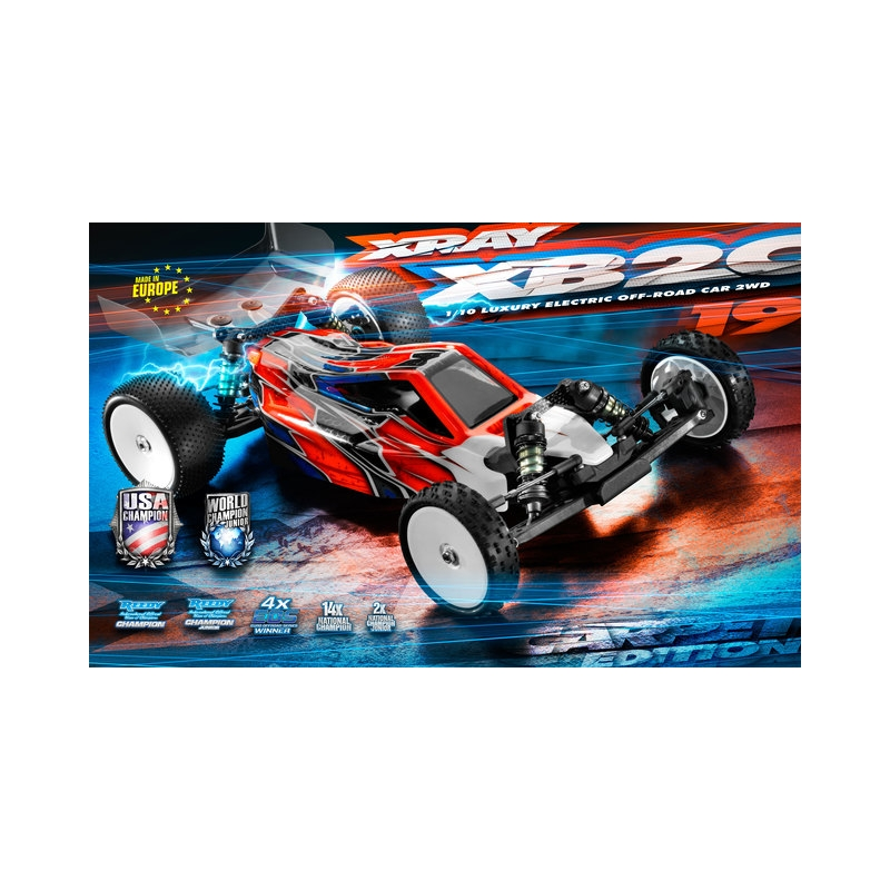 a363927a33a Xray 1:10 XB2C -19 Luxyrous 2wd Electric Buggy Kit - Carpet Edition ...