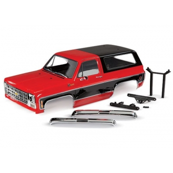 Body Chevrolet Blazer 1979 Red (set with accessories)