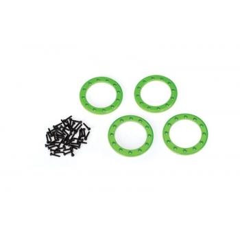 Beadlock Rings green (1.9') Alu (4) + Screw