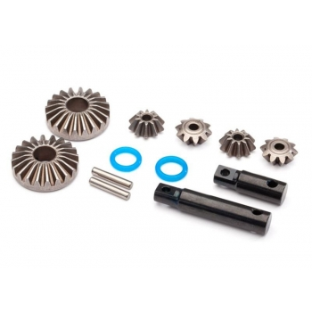 Output-Gear Center-Diff aus Steel (2)