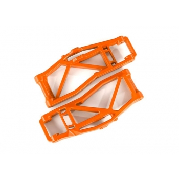 Suspension arms, lower, orange (left and right, front or rear) (2) (for use with #8995 WideMaxx? suspension kit)