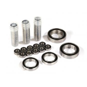 Ball bearing-Set TRX-4 Traxx Black rubber seal, stainless