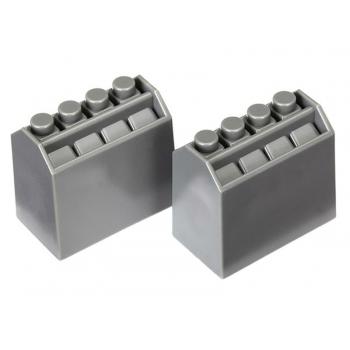 Oil bottles, grey (2)
