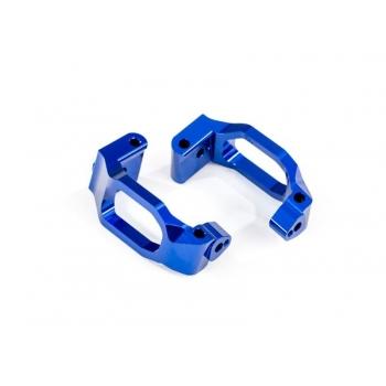 Caster-Blocks (C-Hubs) l/r Alu Blue