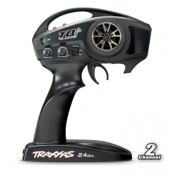 TQi 2.4 GHz High Output radio system, 2-channel, Traxxas Link? enabled, TSM (2-ch transmitter, 5-ch micro receiver)