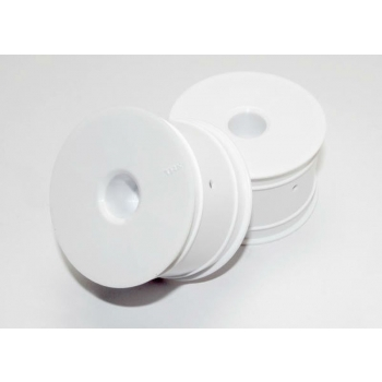 Disk-wheels white 2,2