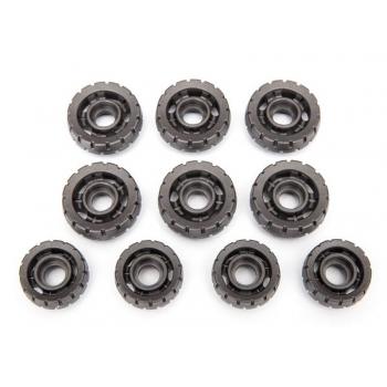Tension wheels (6)/ road wheels (4)