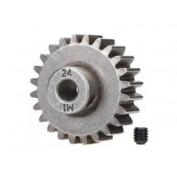 Gear, 24-T pinion (1.0 metric pitch) (fits 5mm shaft)