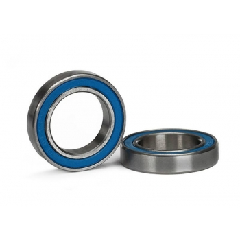 Ball bearing, Blue rubber seal (15x24x5mm) (2)