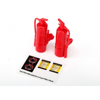 Fire extinguisher, red (2)