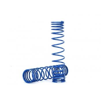 Spring, shock, rear (blue) (GTR) (progressive, 1.042 rate) (2)