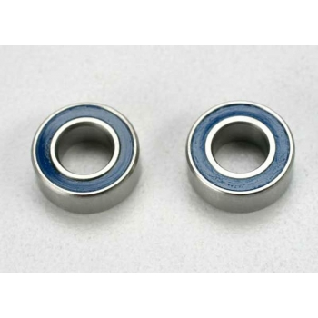 Ball bearing with blue seal (5x10x4mm) (2)