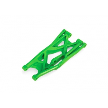 Suspension arm, green, lower (right, front or rear), heavy duty (1)