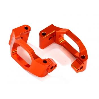 Caster-Blocks (C-Hubs) l/r Alu Orange