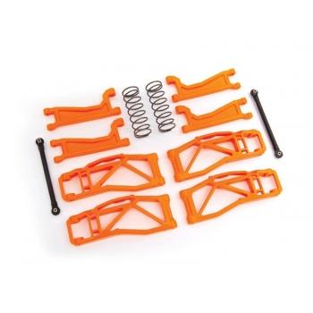 Suspension kit WideMaxx Orange Suspension arms, toe links +springs rear