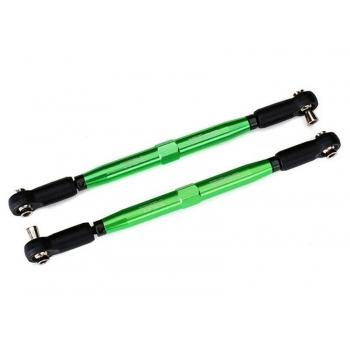 Toe-links X-Maxx green 7075-T6 Alu