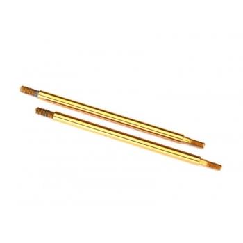 shock shaft 74mm GTR Rear (TiN-coated) (2)