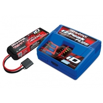 Completer Pack with 2970GX iD Charger +2849X 4000mAh 11.1v LiPo