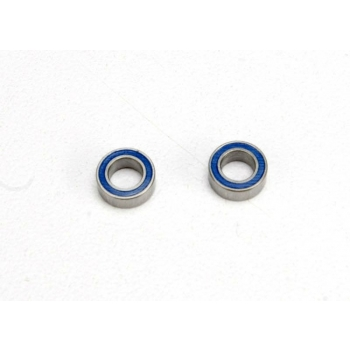 Ball bearings, blue rubber sealed (4x7x2.5mm) (2)