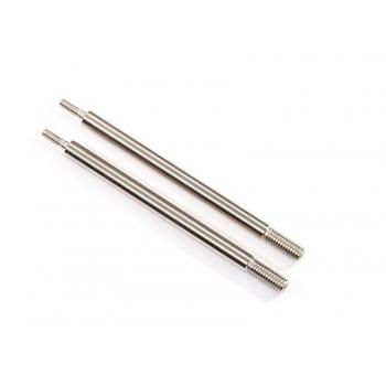Shock shafts 72mm GT-Maxx (Steel, chrome Finish) (2)