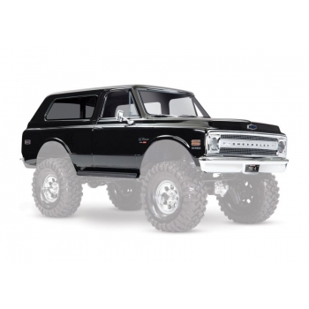 Body Chevrolet Blazer 1969 Black (set with accessories)