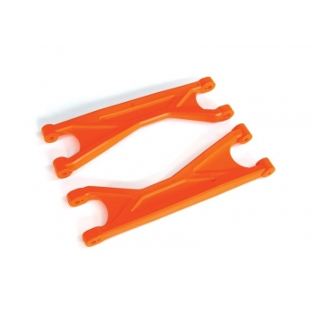 Suspension arms, orange, upper (left or right, front or rear), heavy duty (2)