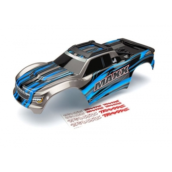 Body Maxx Blue painted + Decal Sheet