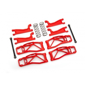 Suspension kit WideMaxx Red Suspension arms, toe links +springs rear
