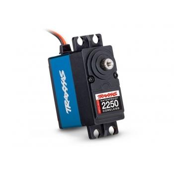 Servo, digital high-torque 330 coreless, metal gear (ball bearing), waterproof