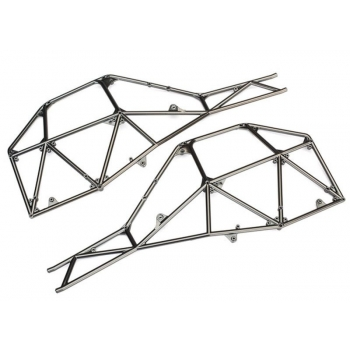 Tube chassis-Chassis Side section l&r satin Black chrome
