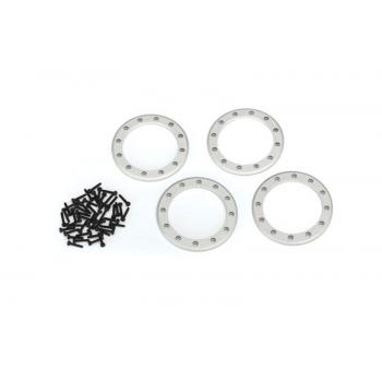 Beadlock Rings Satin (2.2') Alu (4) + Screw