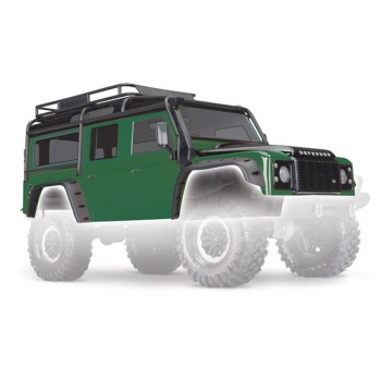 Body, Land Rover Defender, green/Black