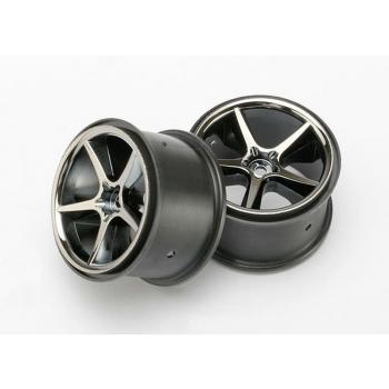 wheels Gemini Black chrome