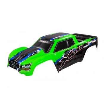 Body XMAXX green with Decals