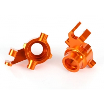 Steering blocks l/r Alu Orange